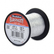 Beadalon Elastic Stringing Wire 0.5mm 100 metre Clear