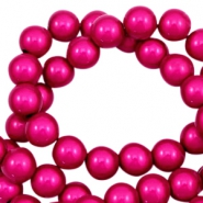 Perles Miracle 3D 4mm rose fuchsia